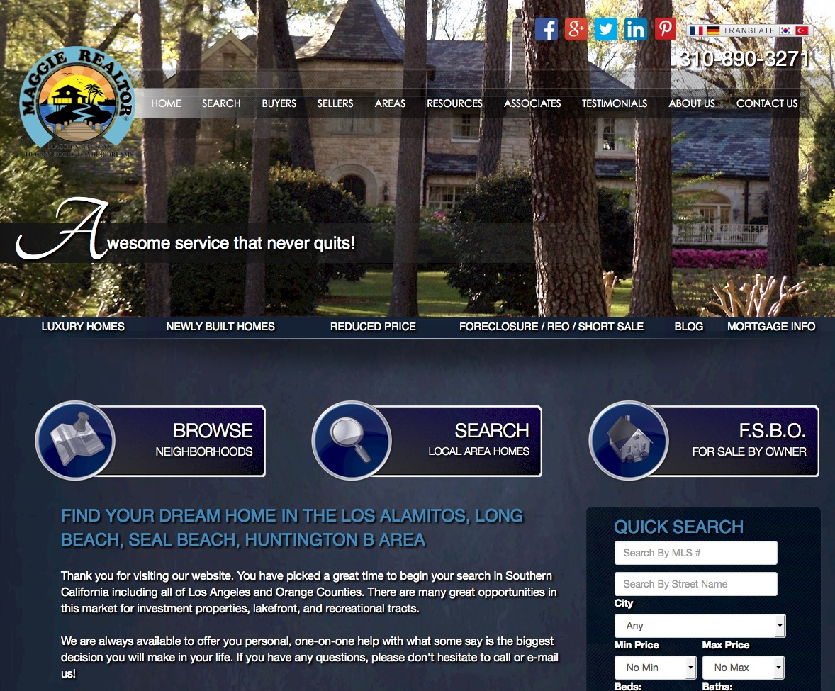 Real Estate Web Template 2